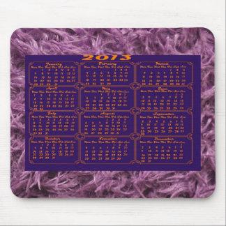 Elegant Purple Fur Mousepads