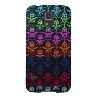 Elegant Rainbow Colorful Damask Fading Colors Galaxy S5 Case