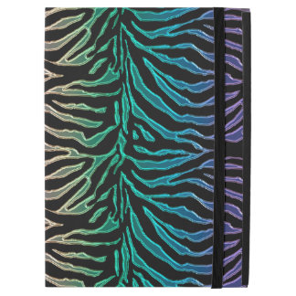 Elegant Rainbow Tiger Print Animal iPad Case