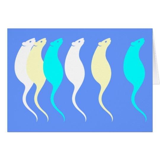 Elegant Rats Card