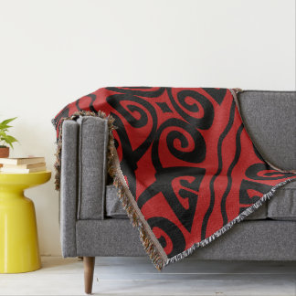 Elegant Red And Black Modern