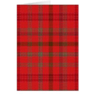 Elegant RED Checks Warm Energy ART lowprice stor Greeting Card