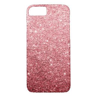 Elegant Red Glitter Luxury iPhone 7 Case