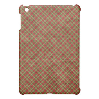 Elegant Red Gold Hard Shell iPad Case