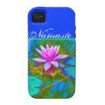Elegant Reflections Namaste Yoga Lotus Vibe iPhone 4 Covers