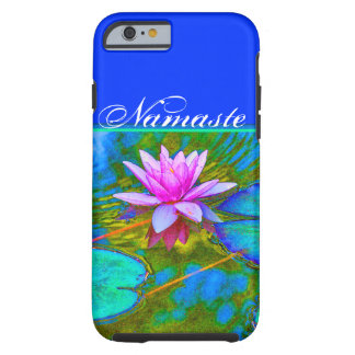 Elegant Reflections Namaste Yoga Lotus Tough iPhone 6 Case