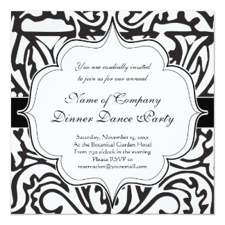 Elegant Renaissance or Medieval Monogram Letter W Invitation