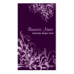 Elegant Retro Lavender Flower Swirls 3