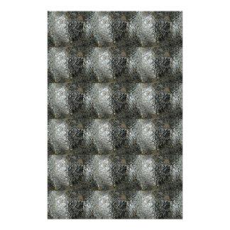 Elegant Rich Prints Rare Earth Crystals n Mosiac Custom Stationery