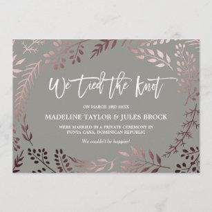elopement invitations announcements zazzle uk