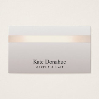 Elegant Rose Gold Striped Modern Stylish Taupe