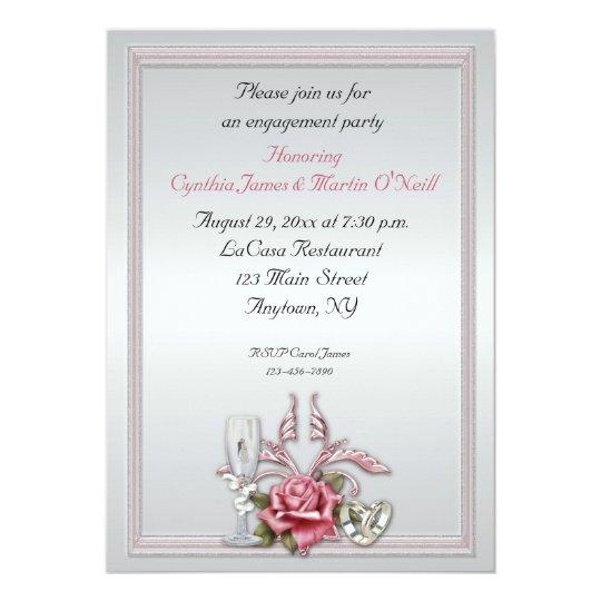 Elegant Rose Invitation