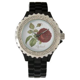 Elegant Rose Watch