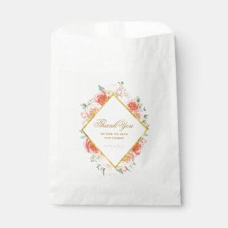 Elegant Roses Favour Bags (50)