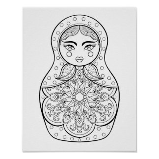 Elegant Russian Doll 2 Poster