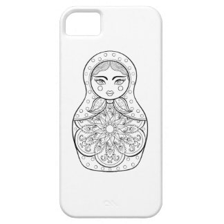Elegant Russian Doll Barely There iPhone 5 Case