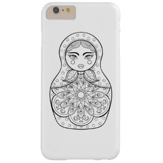 Elegant Russian Doll Barely There iPhone 6 Plus Case