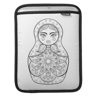Elegant Russian Doll iPad Sleeve