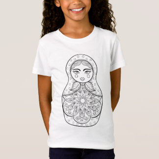 Elegant Russian Doll T-Shirt