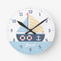 Personalised Nautical Clock