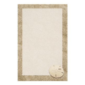 Elegant Sand Dollar Stationary 4 Stationery