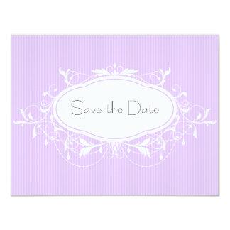 Elegant Save The Date Invitiation 11 Cm X 14 Cm Invitation Card