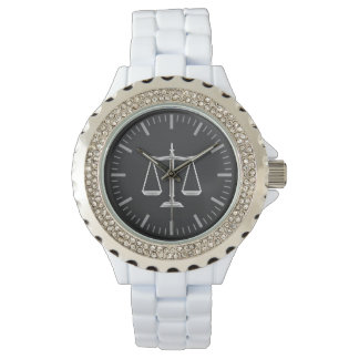 Elegant Scales of Justice | Hand Watch