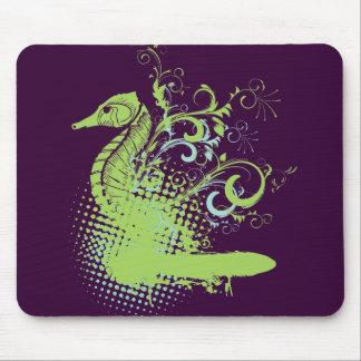 elegant seahorse mousepads