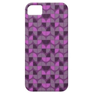 Elegant Seamless Purple Pattern iPhone 5 Cover