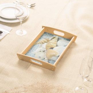 Elegant Seashells ! Serving Tray
