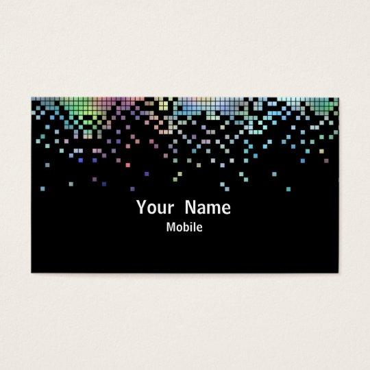 Elegant Sequins Hologram Business Card