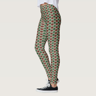 Elegant Shiny Graphical Diamonds on any Color Leggings