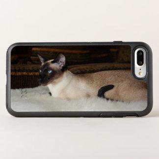Elegant Siamese Cat OtterBox Symmetry iPhone 7 Plus Case