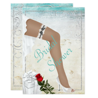 Elegant Silver Bridal Shower Invitation