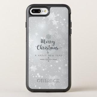 Elegant Silver Christmas & New Year   Phone Case