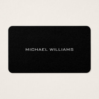 Elegant simple classic professional brightness business card