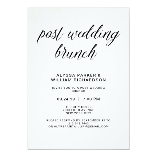 Post Wedding Party Invitation: Post Wedding Reception Invitations & Announcements