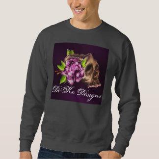 Elegant Skull Sweatshirt
