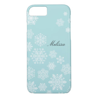 Elegant Snowflakes iPhone 7 case