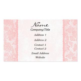 Elegant Soft Pink Floral Business Card