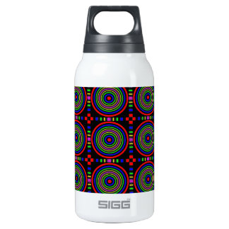 Elegant Sparkling Circles : Energy at work 10 Oz Insulated SIGG Thermos Water Bottle