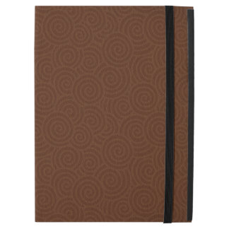 Elegant Spirals Brown Custom