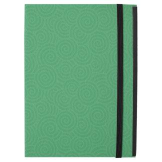 Elegant Spirals Custom Emerald Green