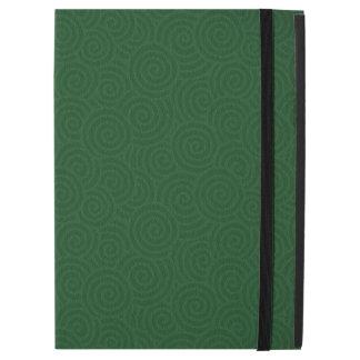 Elegant Spirals Green Custom