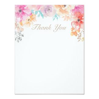 Elegant Spring Girly Flowers Custom 11 Cm X 14 Cm Invitation Card