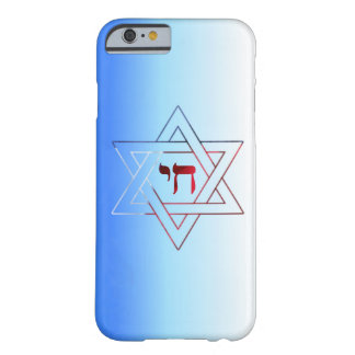 Elegant Star of David  & Chai Barely There iPhone 6 Case