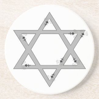elegant star of david coaster