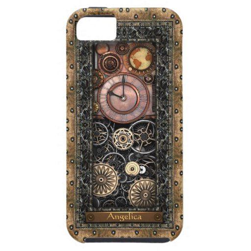 Elegant Steampunk Customizable Case For iPhone 5/5S