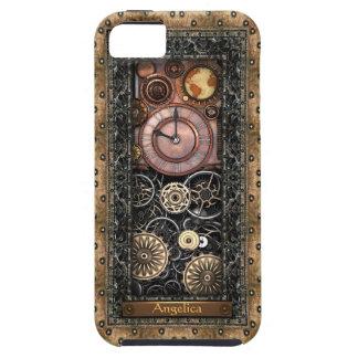 Elegant Steampunk Customizable iPhone 5 Case