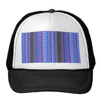 Elegant STRIPES Template DIY add edit TEXT PHOTO Trucker Hat